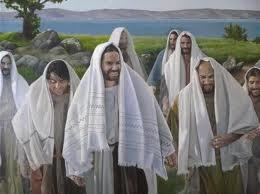 Jesus e os discipulos colhendo espigas no sábado