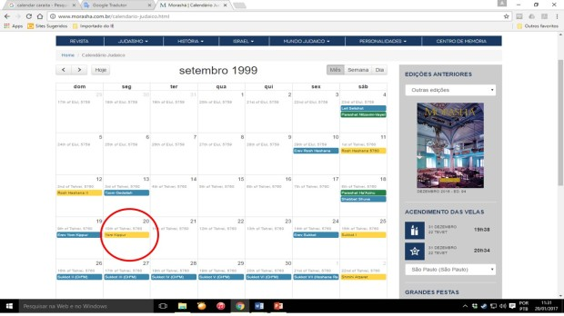 calendario-festas-judaicas-em-1999